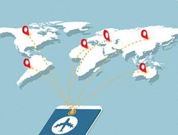 აეროპორტის მიმართულების რუკა